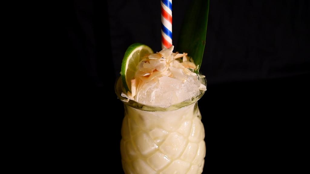 strained pine apple How to make Pina Colada - Pina Colada cocktail recipe - Best Pina Colada recipe - How to make a Pina Colada